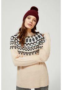 Sweter MOODO ze stójką