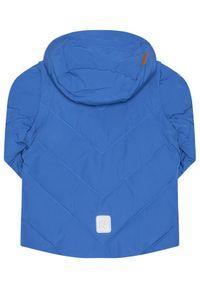 Reima Kurtka puchowa Beringer 531483 Niebieski Regular Fit. Kolor: niebieski. Materiał: puch