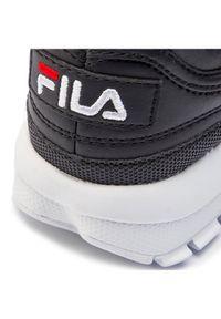 Czarne buty sportowe Fila