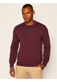 Czerwony sweter klasyczny Armani Exchange
