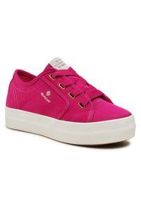 GANT - Gant Tenisówki Leisha 22539564 Różowy. Kolor: różowy