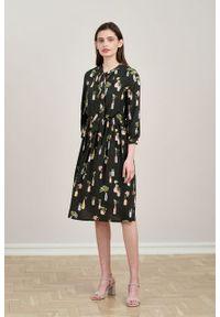 Marie Zélie - Sukienka Noelia Pilea. Materiał: bawełna, wiskoza, tkanina, materiał