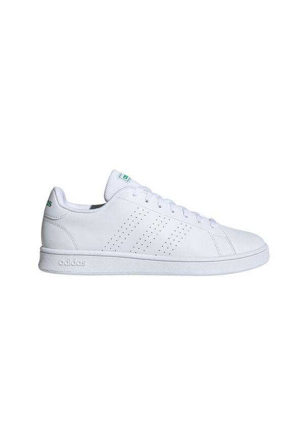 Buty do tenisa Adidas z paskami, Adidas Advantage, z cholewką