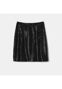 Mohito - Spódnica z cekinami - Srebrny. Kolor: srebrny