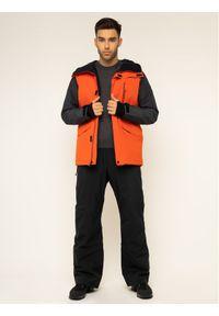 Pomarańczowa kurtka sportowa Quiksilver snowboardowa