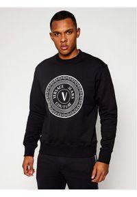 Versace Jeans Couture Bluza B7GWA7TT Czarny Regular Fit. Kolor: czarny