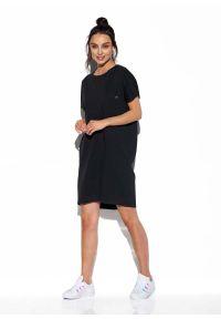 Czarna sukienka Lemoniade prosta, mini