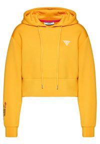 Guess Bluza Mini W0BQ09 K7UW2 Żółty Regular Fit. Kolor: żółty