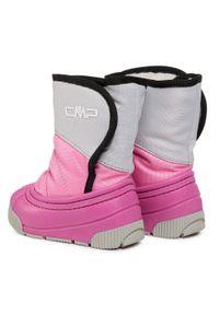 Śniegowce CMP - Baby Latu 39Q4822 Ice Pink 16XF. Kolor: różowy. Materiał: materiał. Szerokość cholewki: normalna. Sezon: lato