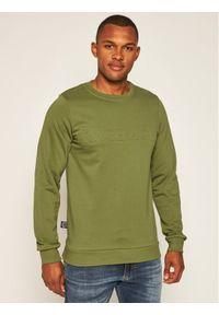 Rage Age Bluza Crewneck 1 Zielony Slim Fit. Kolor: zielony