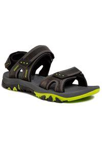 Czarne sandały trekkingowe Elbrus na lato