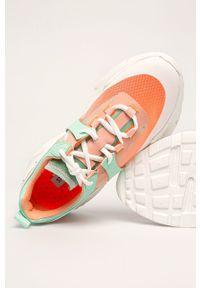 Wielokolorowe buty sportowe Steve Madden na sznurówki, z okrągłym noskiem, z cholewką