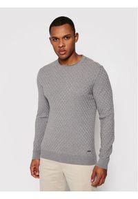 JOOP! - Joop! Sweter 17 Jk-15Mads 30024738 Szary Regular Fit. Kolor: szary