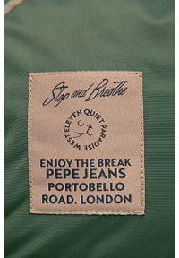 Brązowy plecak Pepe Jeans gładki