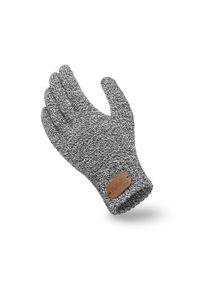 Szare rękawiczki PaMaMi