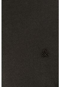 Czarny t-shirt Jack & Jones na co dzień, casualowy