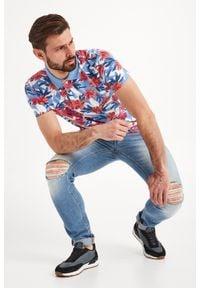 Koszulka polo JOOP! Jeans z nadrukiem, sportowa, polo