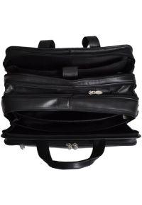 Torba na laptopa MCKLEIN Chicago 17 cali Czarny. Kolor: czarny. Materiał: skóra, neopren, materiał. Styl: biznesowy, klasyczny, elegancki