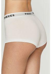 Pieces - Figi (4-pack). Kolor: biały