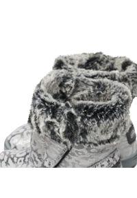 Primigi - Kozaki PRIMIGI - 8356522 M Perl. Kolor: srebrny, wielokolorowy, szary. Materiał: skóra, zamsz, materiał