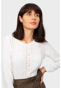 Bluzka Greenpoint elegancka, w koronkowe wzory