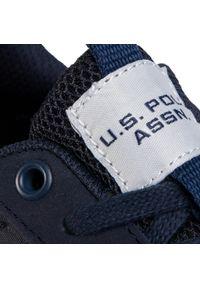 Niebieskie półbuty U.S. Polo Assn z cholewką