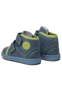 RenBut - Trzewiki RENBUT - 13-1423 Jeans Zielony. Kolor: niebieski. Materiał: skóra, zamsz. Sezon: zima, jesień #4