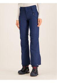 Niebieskie spodnie sportowe Roxy snowboardowe