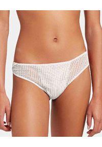 Wolford - WOLFORD - Białe stringi Venus. Kolor: biały. Materiał: jersey, koronka. Wzór: koronka, aplikacja