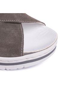 Szare sandały Scholl