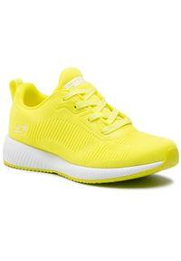 Żółte buty do fitnessu skechers