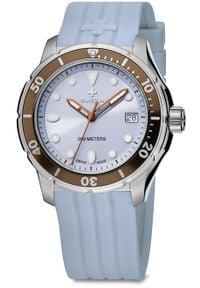 Zegarek Swiza Zegarek damski Tetis Lady SST niebieski (WAT.0431.1002). Kolor: niebieski
