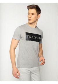 Szary t-shirt Trussardi Jeans