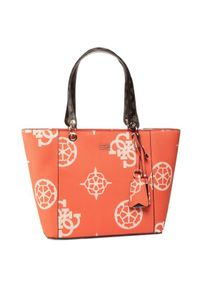 Pomarańczowa torebka Guess