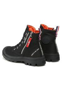 Czarne buty trekkingowe Palladium