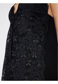 Czarna sukienka koktajlowa wizytowa