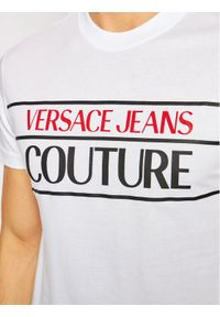 Biały t-shirt Versace Jeans Couture