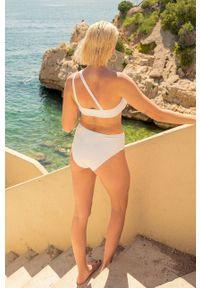 Undiz - Strój kąpielowy MALIBUIZ. Kolor: biały. Materiał: dzianina