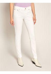 Białe jeansy slim Polo Ralph Lauren