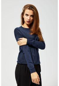 Sweter MOODO długi, klasyczny