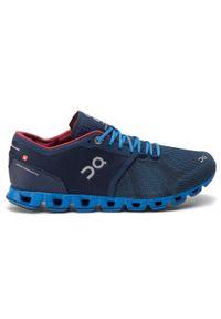 Niebieskie buty do biegania On z cholewką