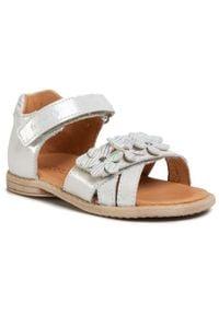 Froddo - Sandały FRODDO - G2150117-1 S White. Kolor: biały. Materiał: skóra, nubuk. Wzór: aplikacja. Sezon: lato