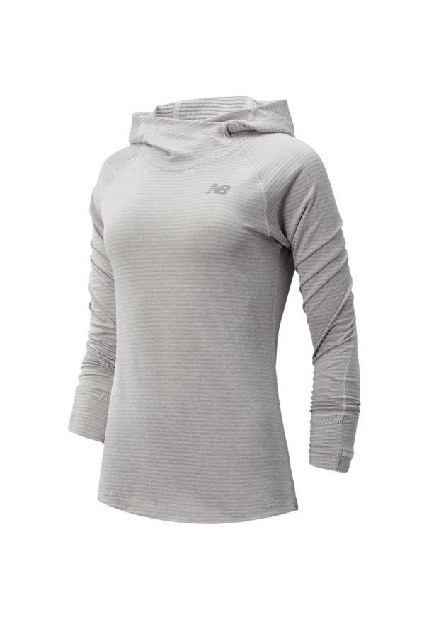 Bluza sportowa New Balance z kapturem, na fitness i siłownię