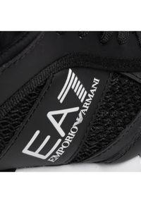 EA7 Emporio Armani Sneakersy Czarny. Kolor: czarny