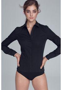 Czarna koszula Nife klasyczna