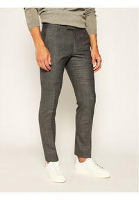 JOOP! - Joop! Spodnie materiałowe 30017757 Szary Extra Slim Fit. Kolor: szary. Materiał: materiał