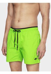 Zielone szorty 4f na plażę, na lato