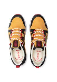 Big-Star - BIG STAR Sneakersy HH174087 Żółty. Kolor: żółty