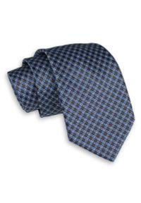 Krawat Angelo di Monti klasyczny, w kratkę