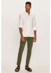 Zielone spodnie Tommy Hilfiger Tailored